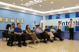 武汉同济医院领导及专家莅临集团参观指导